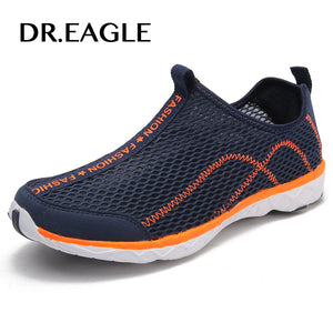 Dr.eagle Outdoor Sneakers men summer breathable Men's sport shoes fitness light gym water Aqua Shoes Men's beach shoes 39-46