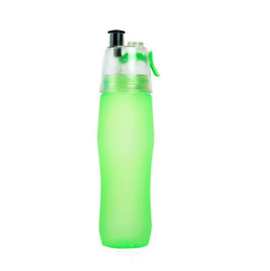 2018 New 740ml Spray Water Bottle Large Capacity Sport Cycling Gym Kettle My Drinking Bottles Shaker BPA Free