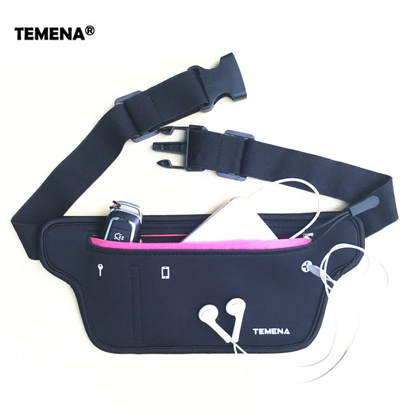 Outdoor Running Waist Belt Bag Waterproof Mobile Phone Holder Jogging Belly Pack Men Women Gym Fitness Bag Sport Accessories
