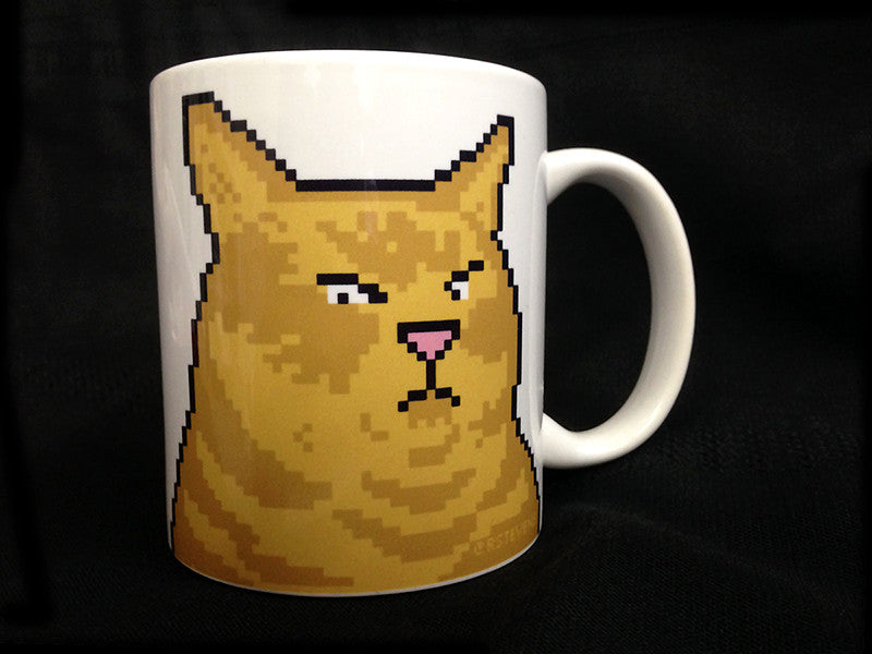 Admiral Chubkins Surly Cat Mug (Gently Loved Factory Second)