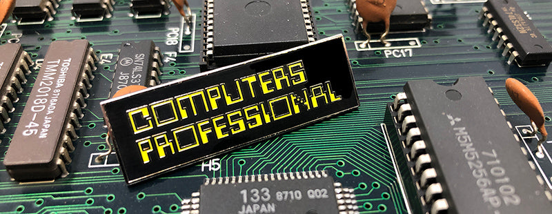 COMPUTERS PROFESSIONAL Pin (CYBER EDITION)