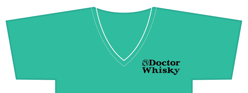 Doctor Whisky Shirt (surgical teal)