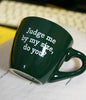 """Judge Me by My Size, Do You?"" Espresso Mug (Factory Second)"