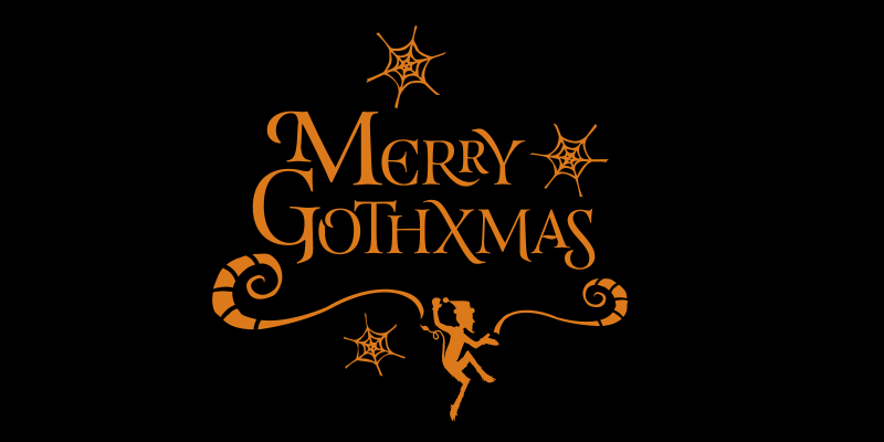 Goth Xmas Shirt from Warren Ellis