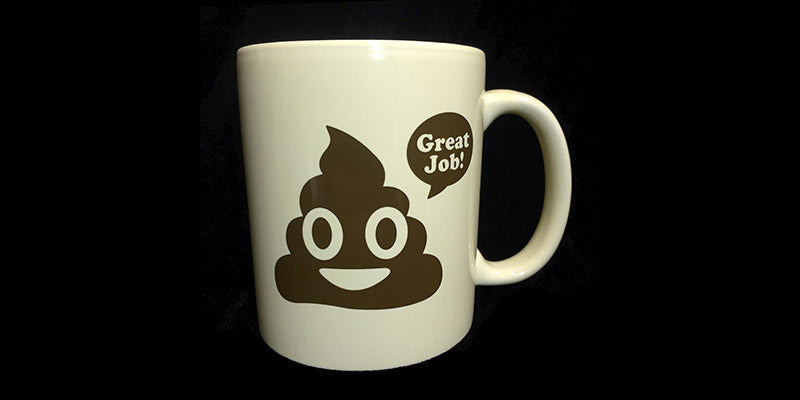 Great Job! Poop Emoji Coffee Mug