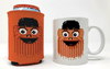 Orange Hockey Chum Mug