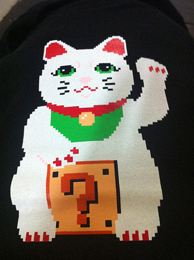 Lucky Pixel Kitty Shirt