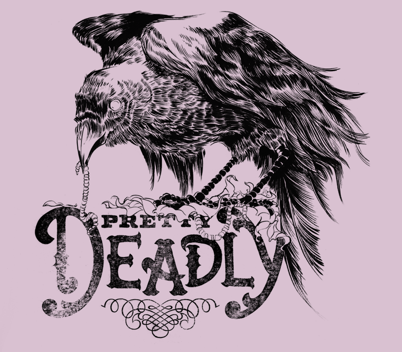 Pretty Deadly Shirt (dusty mauve)