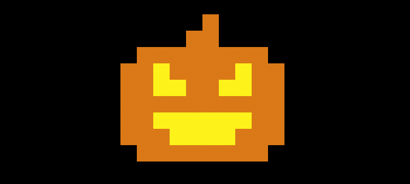 Pixel Pumpkin Shirts (Last Call!)