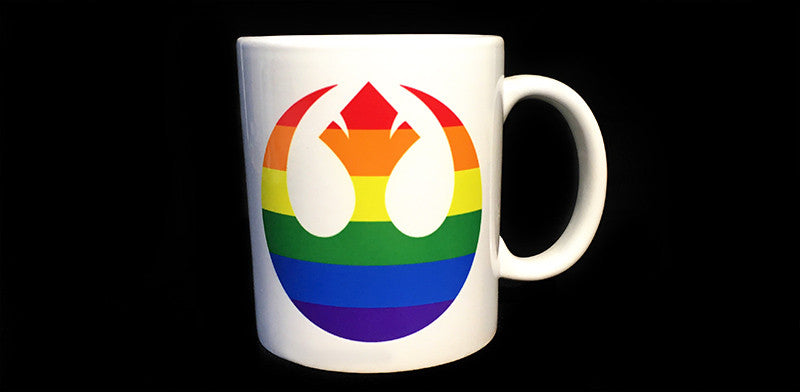 Pride of the Resistance Mug (Gently Loved Factory Second)