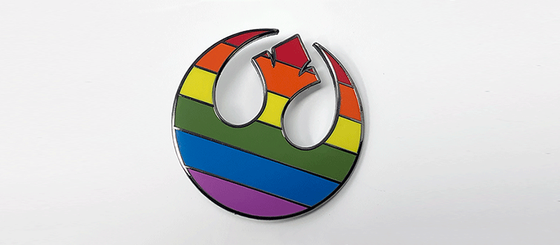 Pride of the Resistance Pin (BLACK SQUADRON EDITION)