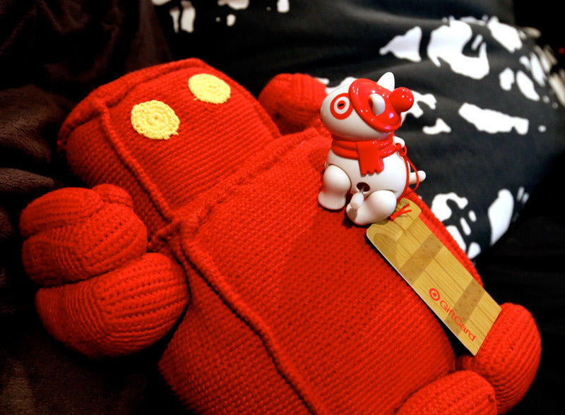 PLUSH ALL HU-MANS Red Robot Squishable