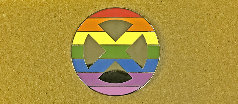 Mutant Pride Pin (Factory Second)