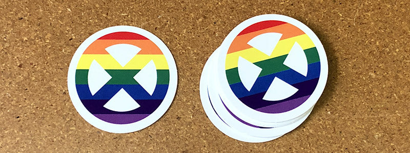 Mutant Pride Stickers