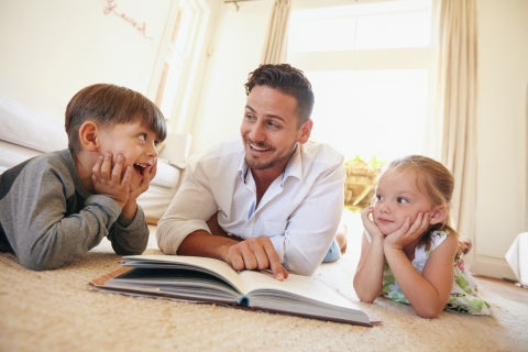 Amazing benefits of reading to your kids