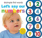 Let's Say Our Numbers First Words
