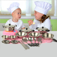 Stainless Steel Cookware- Miniature Kitchen