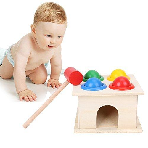 Wooden Colorful Pounding Toy