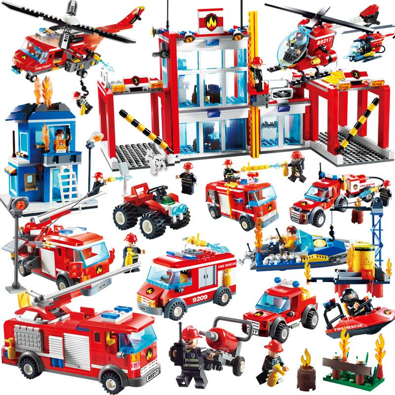 Fire Fighting Series Building Blocks