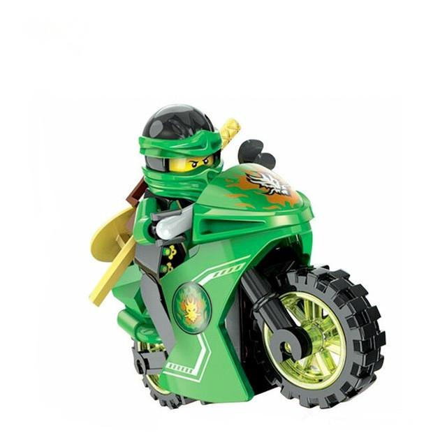 Ninja Motorcycle Building Blocks