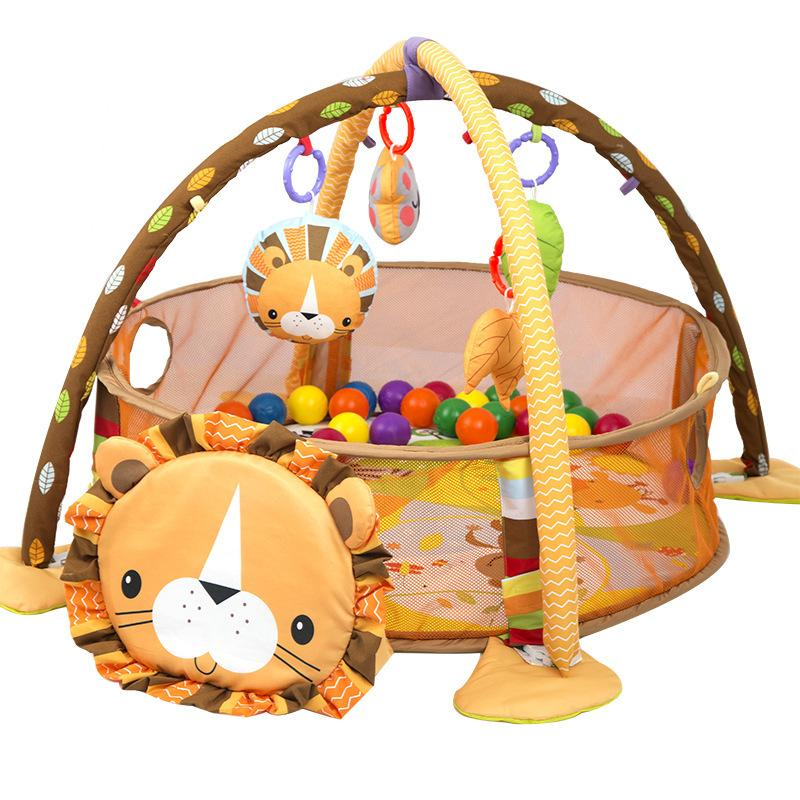 Grow-With-Me Animal Play Gym W/Balls