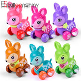 Colorful Clockwork Spring Dear Style Wind Up Toy! - Random Color