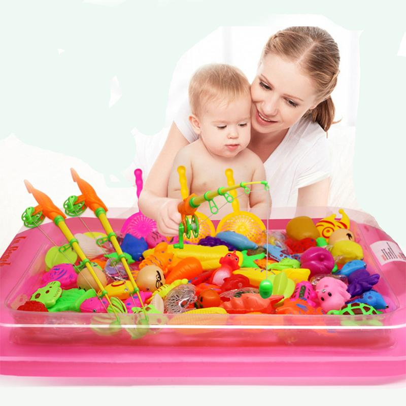 Magnetic Fishing Pool Set