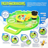 Field Microscope Rotating Disc Magnifier, STEM Experiment Tool kits