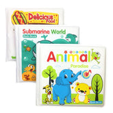 Waterproof Animal Learning Bath Book
