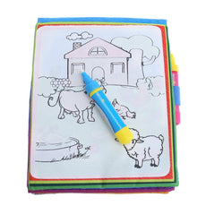 New Kids Magic Water Drawing Painting Book Water Coloring Cloth