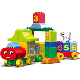 Creative Play Numbers Train Blocks