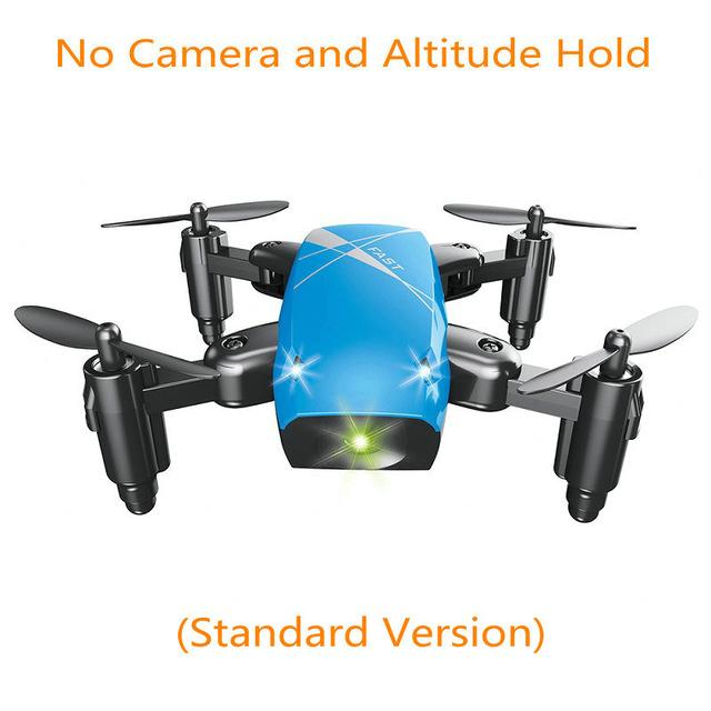 Mini Drone With Camera S9 No Camera RC Helicopter Fold-able Drones