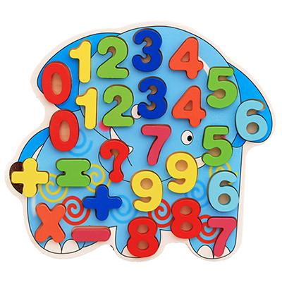 Letters and Numbers 3D Puzzles