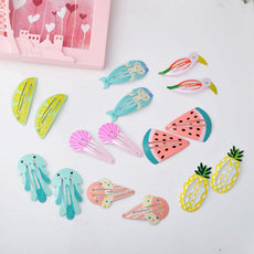 2pcs Girls Snap Hair Clips