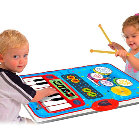 2 in 1 Musical Touch Play Mat