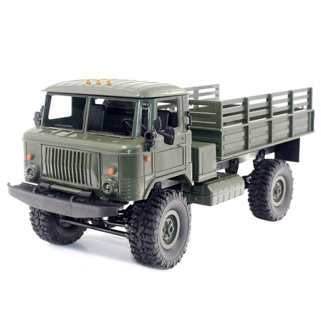 Remote Control Heavy Duty Military Truck