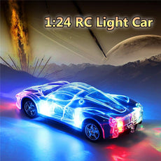 4WD RACING CAR WITH 3D FLASHING LIGHTS