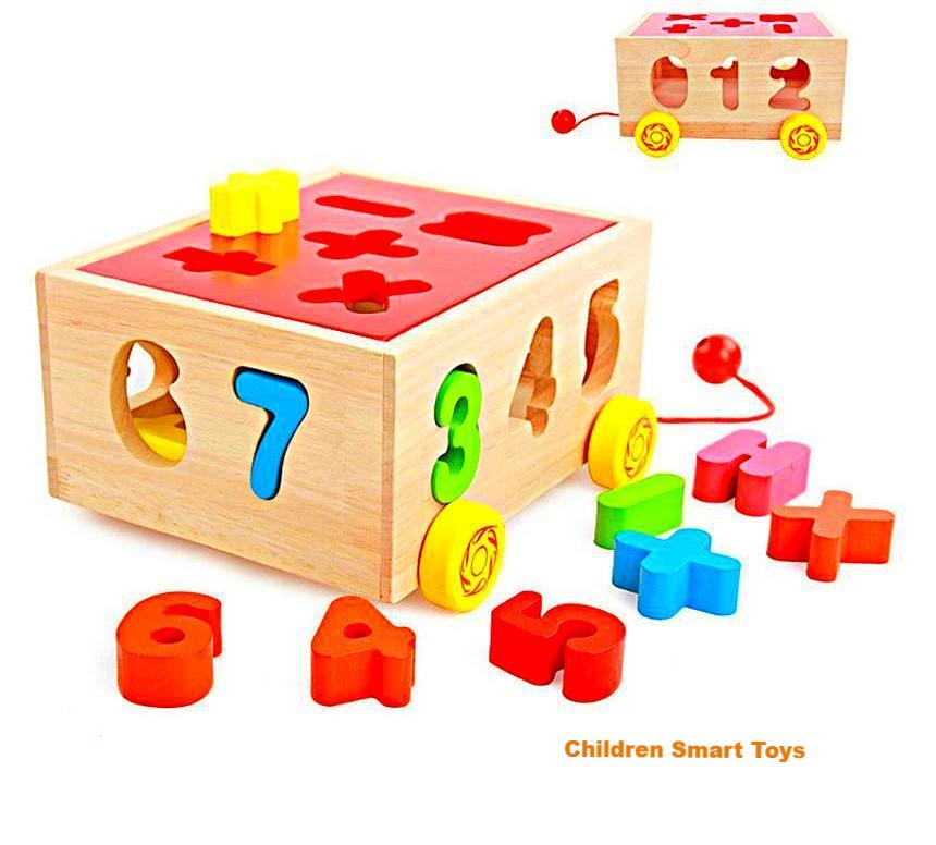 Numbers Pull Toy
