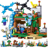 Like Minecraft Building Blocks 378pcs 4 in 1