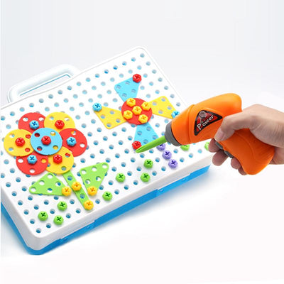 Design And Drill Creative Educational Toy