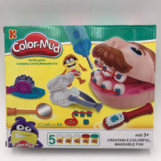 Set for children's creativity with Plasticine 'Dentist Mr. Zubastik' Doctor Toys