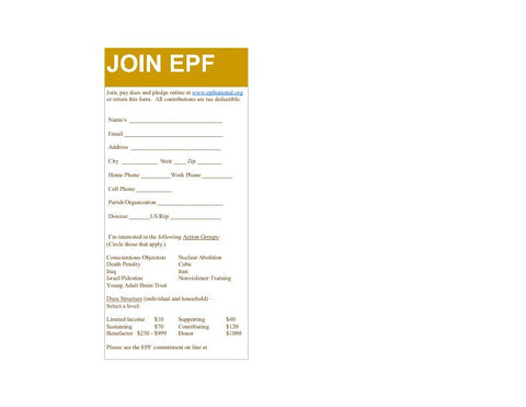 Join EPF card