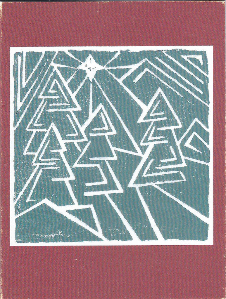 Peace Trees Christmas Card