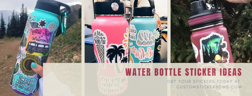 Water Bottle Sticker Ideas