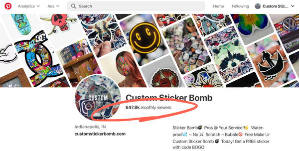 CustomStickerBomb.com, The Only High-Quality Die Cut Sticker Bomb Sticker Shop, Premium Sticker Design and Discounts if you join the Sticker Shock Newsletter. Check out our stickers on Instagram! Shop Now!