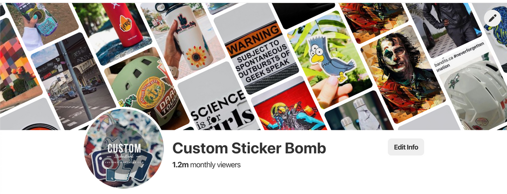 Custom Sticker Bomb, Quality Sticker Shop. Find your water bottle sticker for your perfect sized hot or cold stainless steel hydro flask, or yeti water bottle