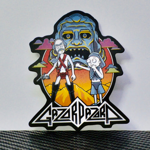 Gazorpazorp Fan Art Sticker