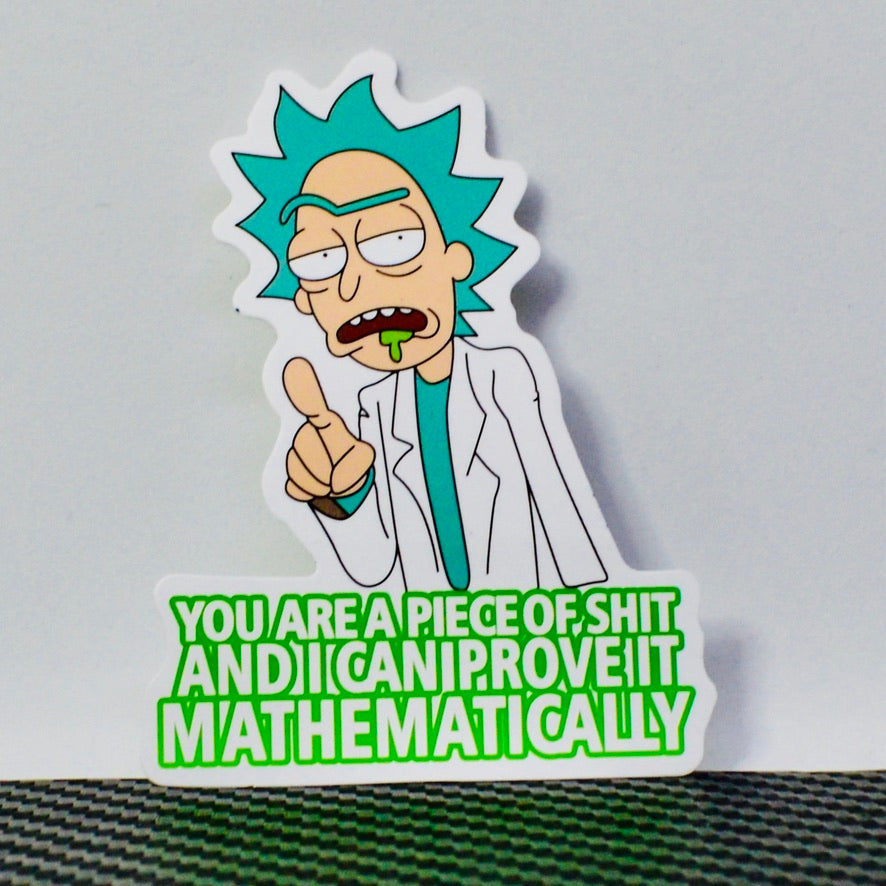 Funny Fan Art Sticker