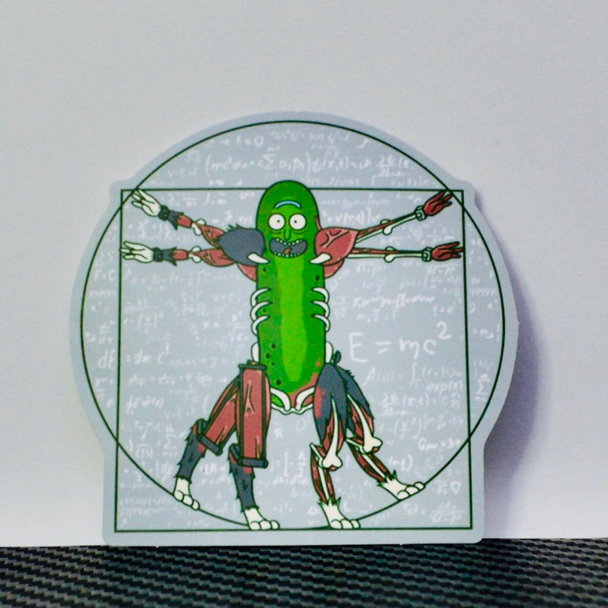 Davinci Vitruvian Pickle