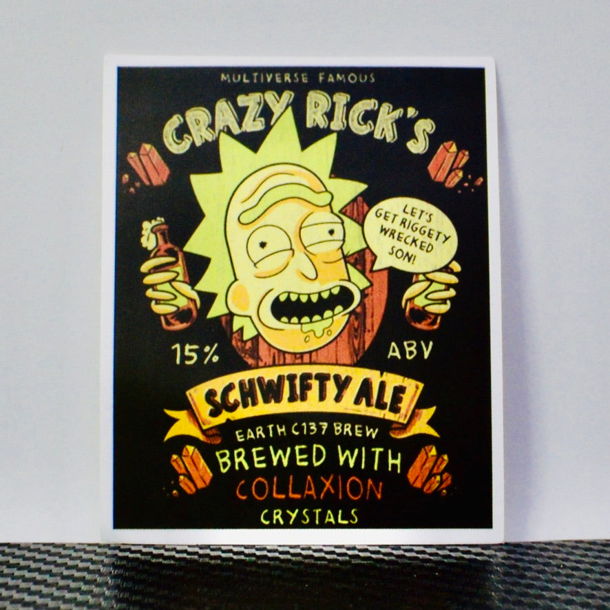 Crazy Rick's Brewed Ale